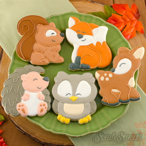woodland animal cookie cutters | Semi Sweet Designs