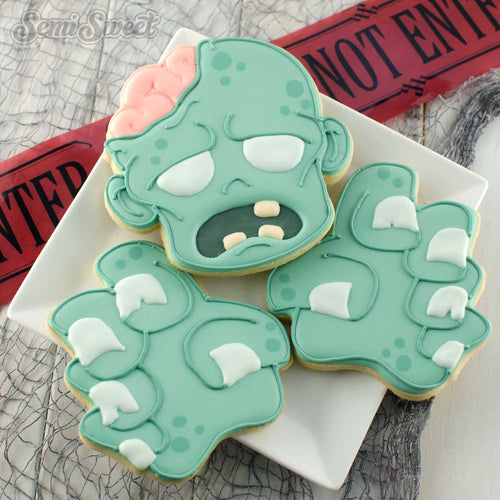 Zombie Cookie Cutter Set