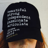 Beautiful Human Youth Hat