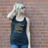 CDC Banned Words Tank Top