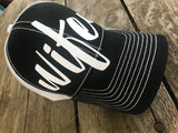 Wifey low profile mesh back cap!!