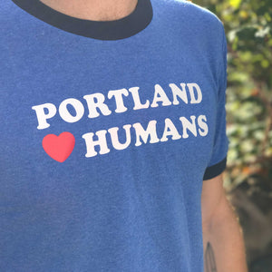 Portland hearts humans tee from Restless yeti