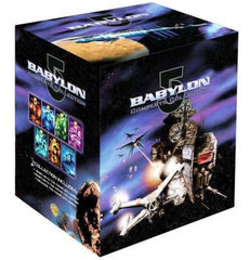 Babylon 5: The Complete Collection Series - Includes Bonus 5 Movie Set and Crusade Collection - DeJaViewed