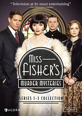 Miss Fisher's Murder Mysteries Series 1-3 - DeJaViewed