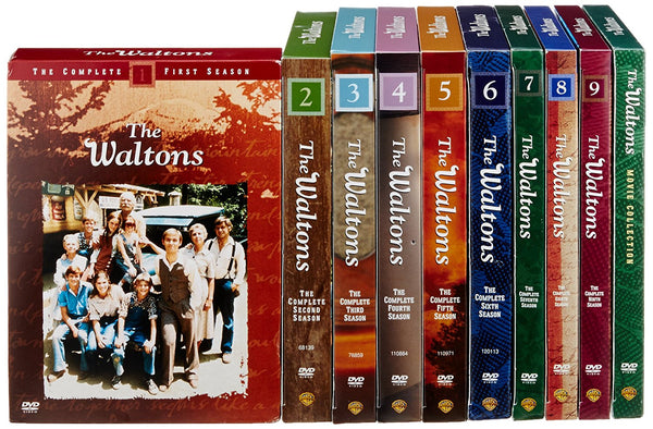 Waltons: Complete Collection DVD Box Set (Seasons 1-9 and Movie Collection) - DeJaViewed