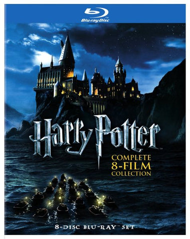 Harry Potter: Complete 8-Film Collection (Blu Ray)