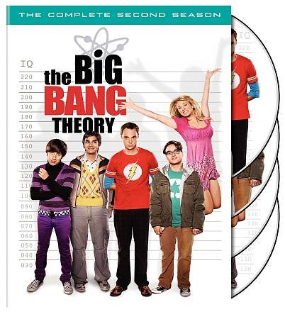 The Big Bang Theory: The Complete Second Season (DVD) - DeJaViewed