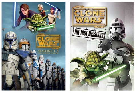 Star Wars: The Clone Wars: Seasons 1-5 Collector's Edition (DVD) - DeJaViewed