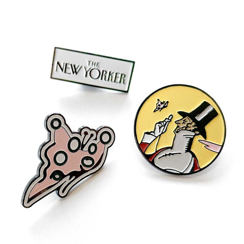 The New Yorker Pin Collection
