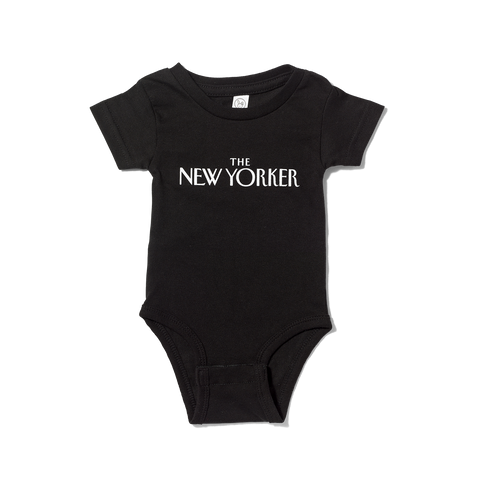 A Baby at Large Onesie in Black