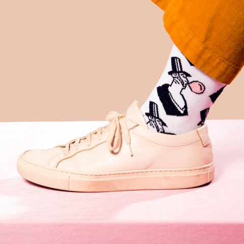 Eustace Tilley's Bubble Gum Socks
