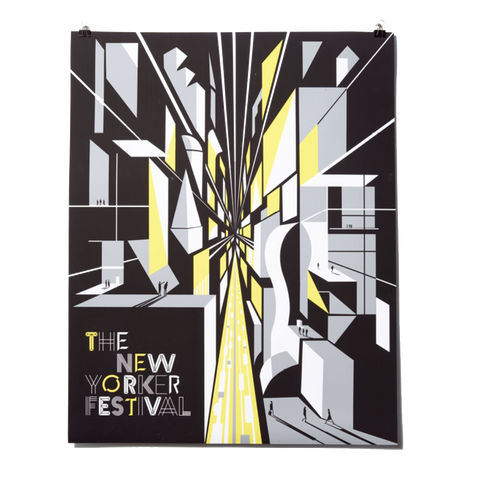 The New Yorker Festival Poster 2018