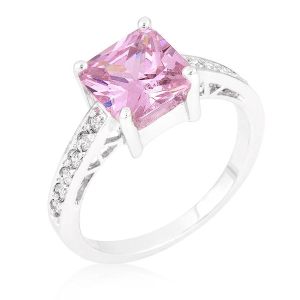 Pretty in Pink Cocktail Ring - Opulent Lifestyle