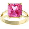 Pink Celeste Cocktail Ring - Opulent Lifestyle