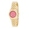 Gold Link Watch With Pink Dial - Opulent Lifestyle