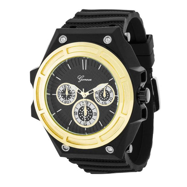 Mens Chronograph Sports Watch - Opulent Lifestyle