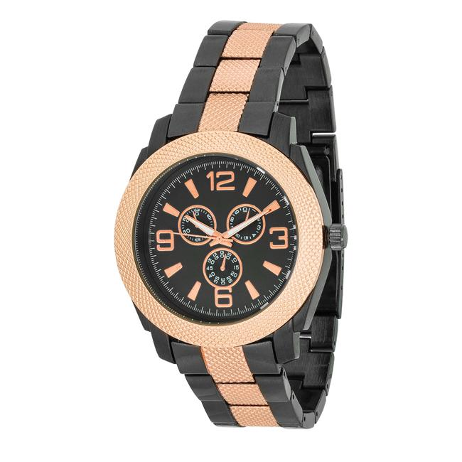 Men's Chronograph Metal Watch - Opulent Lifestyle
