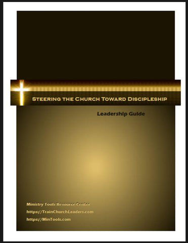 Discipleship Training for Leaders Downloads