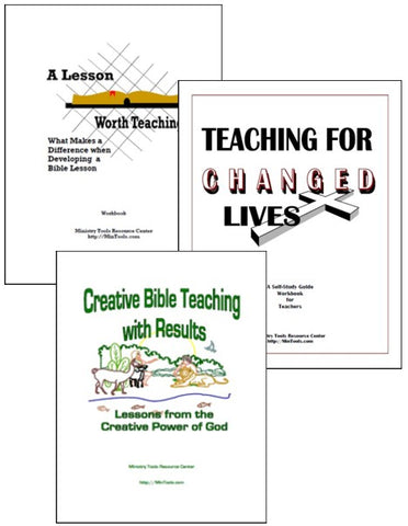 Teacher Training Workbooks as Downloads