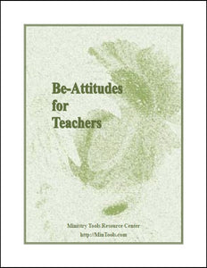 Be-Attitudes for Teachers Devotionals