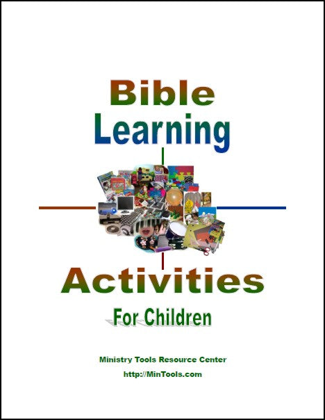 Bible Learning Activities for Children Teacher Training