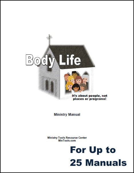 Body Life Ministry Manual for Church Group