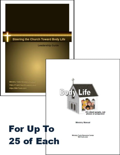 Body Life Bundle for Leadership Team