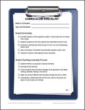 Christian Education Curriculum Checklist Sample