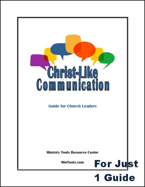 Christ-like Communication Guide for Church Leaders