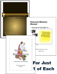 Discipleship Bundle for Church Leaders