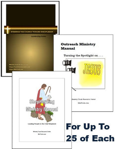 Discipleship Bundle for Church Leadership Teams