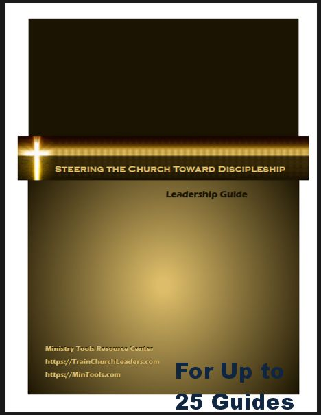 Steering the Church Toward Discipleship Leadership Guide