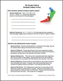 Teacher's Role in Discipling Students Handout Sample