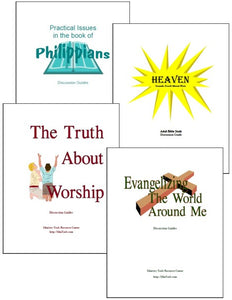 Bible Study Discussion Guides Deal