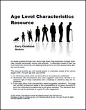Early Childhood Age Level Characteristics Resource