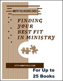 Finding Your Best Fit in Ministry for a Group Study