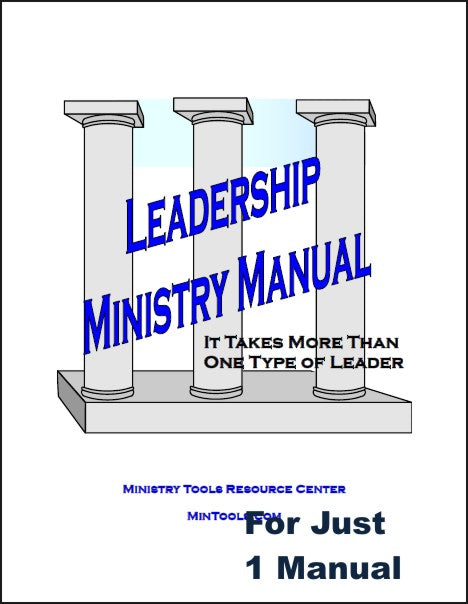 Leadership Ministry Manual