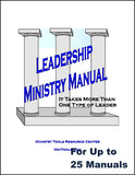 Leadership Ministry Manual for Your Team of Church Leaders