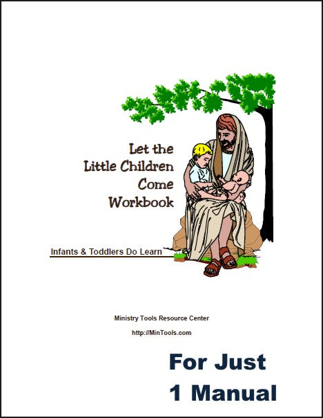 Let the Little Children Come to Jesus Workbook