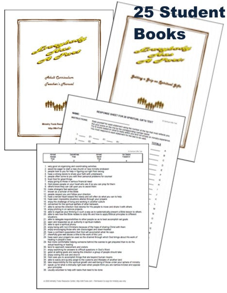 MAX Pak Spiritual Gifts Curriculum & Tests to Use with Your Group