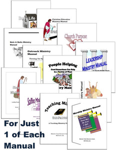 Ministry Manuals Bundle