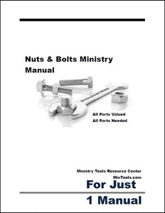 Nuts & Bolts Service-Oriented Ministry Manual