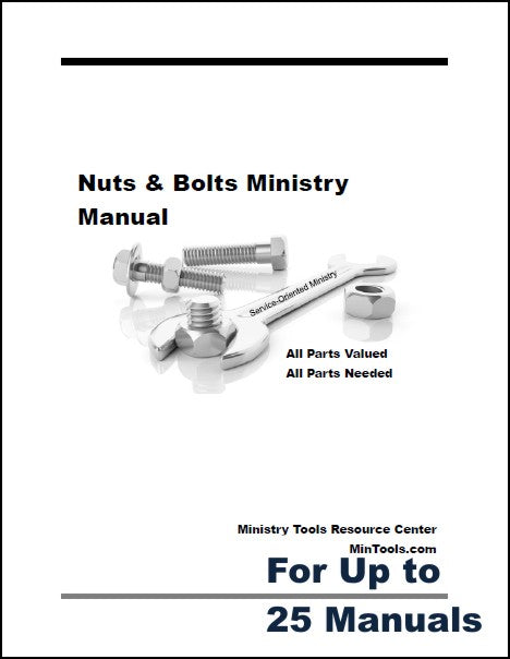 Nuts & Bolts Ministry Manual for Service-Oriented Workers