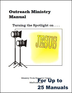 Outreach Ministry Training for your Group