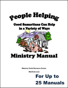 Train Your Group for People Helping Ministry