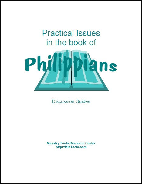 Practical Issues in the Book of Philippians Discussion Guides