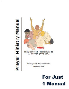 Prayer Ministry Manual
