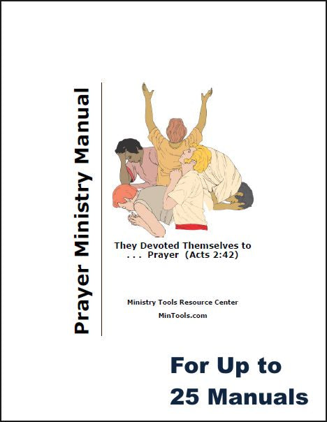 Teach Your Group About Prayer - Ministry Manual