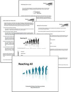 Reaching All Age Levels Teacher Training Resource