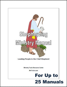 Shepherding Ministry Through a Network of Shepherds